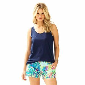 LILLY PULITZER Kinsey Navy Tank Top